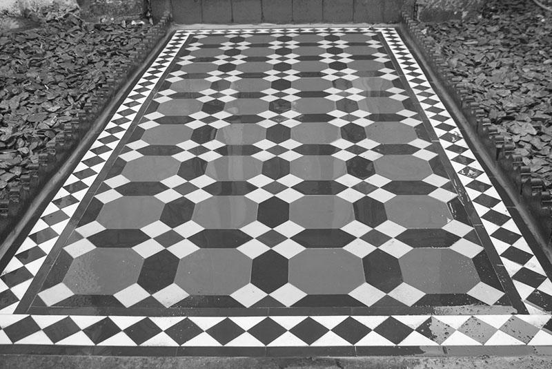 Victorian Path Tiles Surrey
