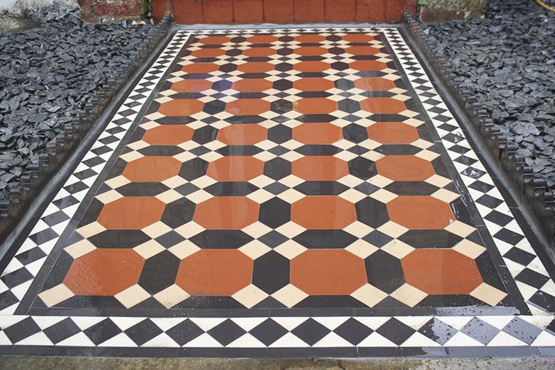 Victorian Path Tiles South London