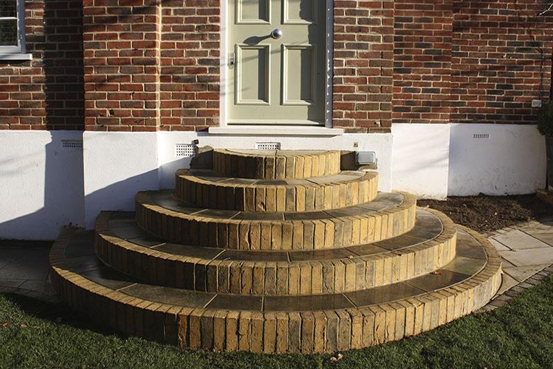 Garden Brickwork South London