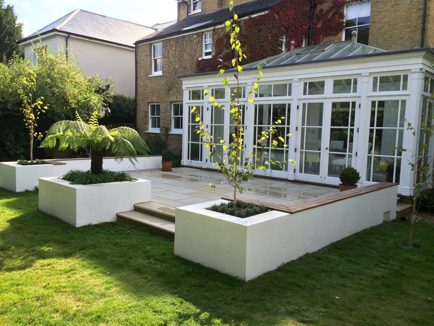 Hampton Court Garden Landscaping