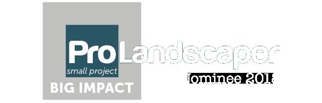 Pro Landscaper Nominee 2018